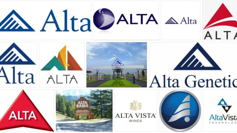 Meaning of Alta