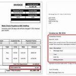 Invoice Correction